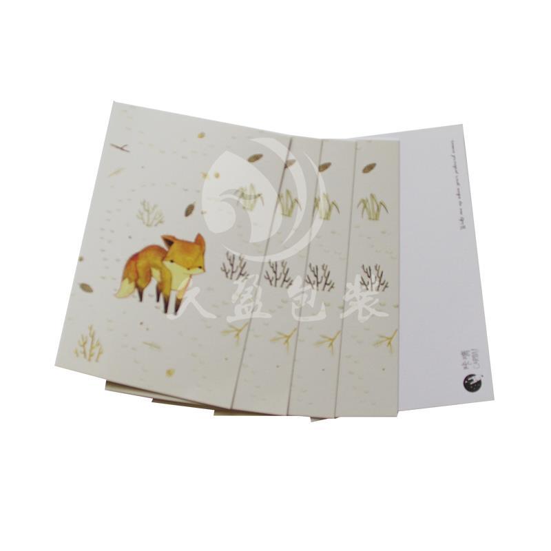 卡通明信片定制印刷