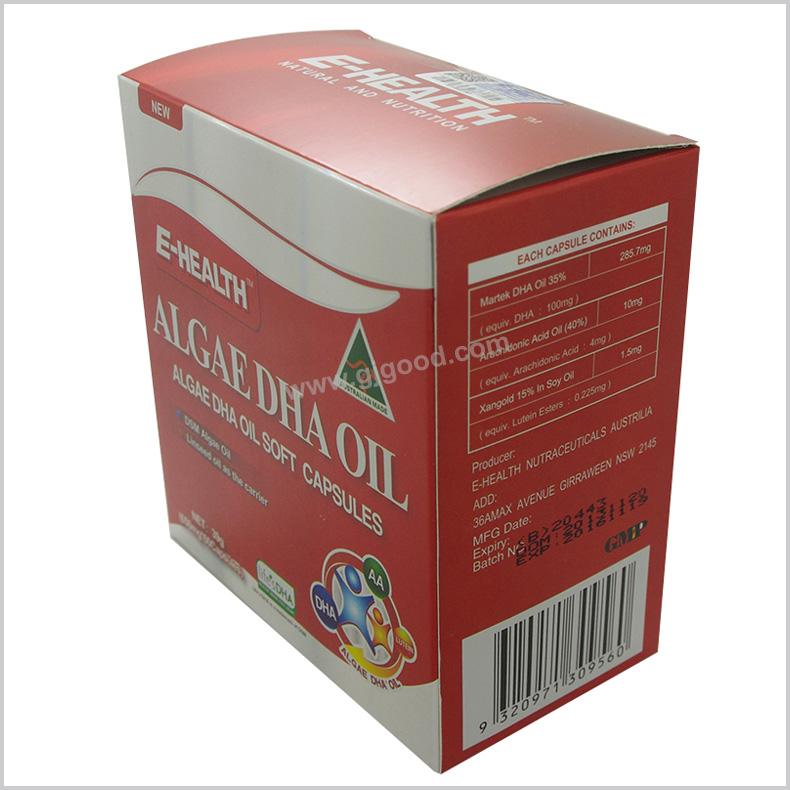 扬州专业设计制作银卡纸包装彩盒,牙膏包装盒,金银卡纸盒