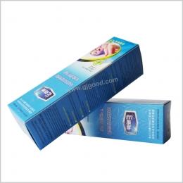 彩印白卡纸盒