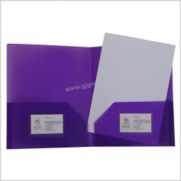 浙江紫色PP文件夹